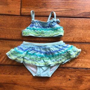 Gymboree 6-12 month 2 piece swim suit